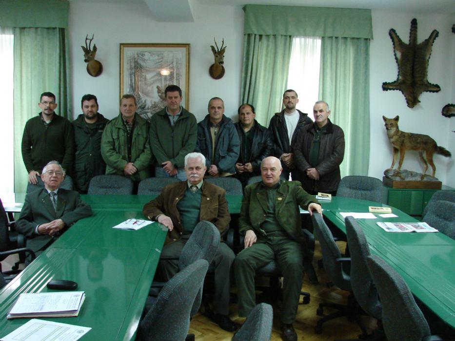 Obavijest o osposobljavanju za zvanje lovca, lovočuvara i ocjenjivača trofeja