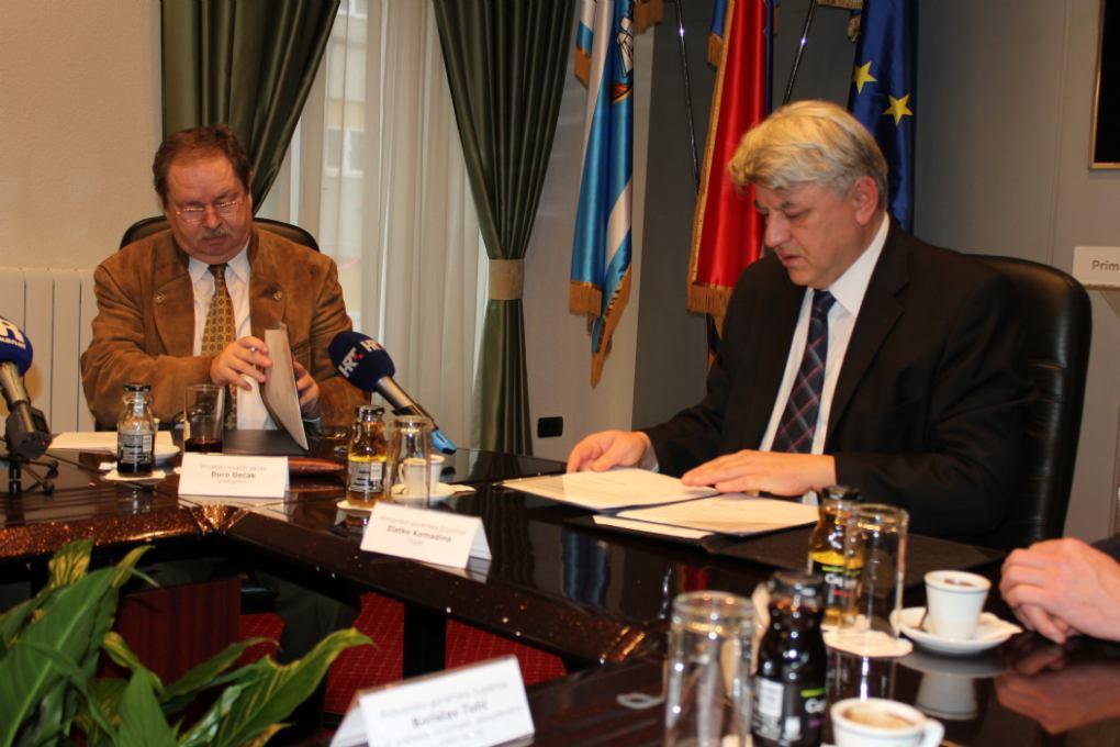 Potpisivanje Sporazuma o načinu osiguravanja financijskih sredstava za uredno izvršenje zakupa zajedničkih lovišta na području PGŽ