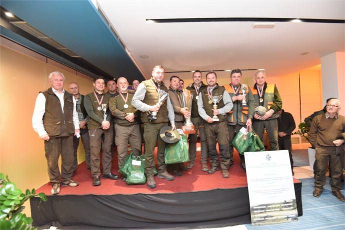 Prijam ekipe Lovačkog saveza Primorsko-goranske županije u lovnoj kinologiji