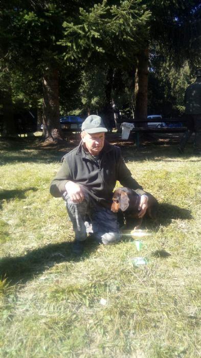 Županijsko prvenstvo u radu pasa glasnog gona na divlju svinju u gateru