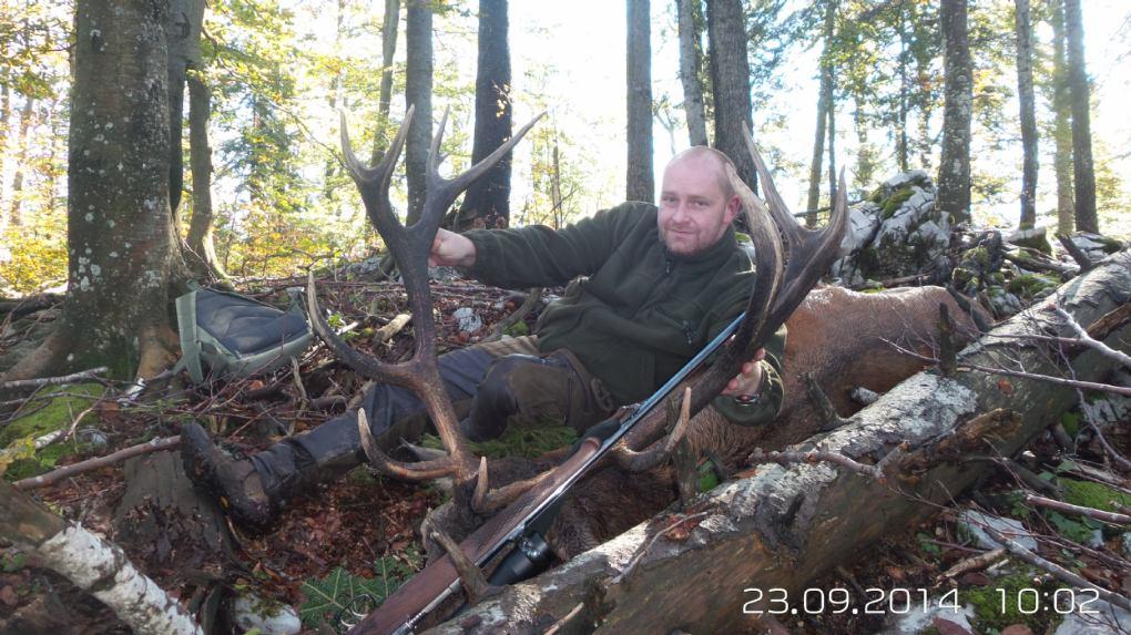 Rika jelena u Gorskom kotaru