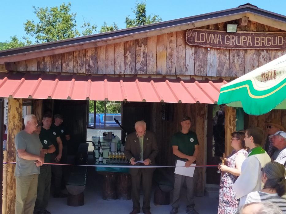 Otvorenje lovačke kućice LD-a