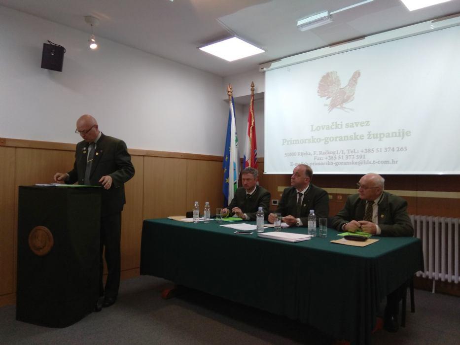 Izvještajno/izborna Skupština Lovačkog saveza Primorsko-goranske županije