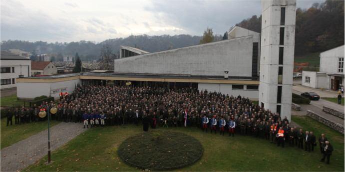 Proslava Sv. Huberta u Karlovcu