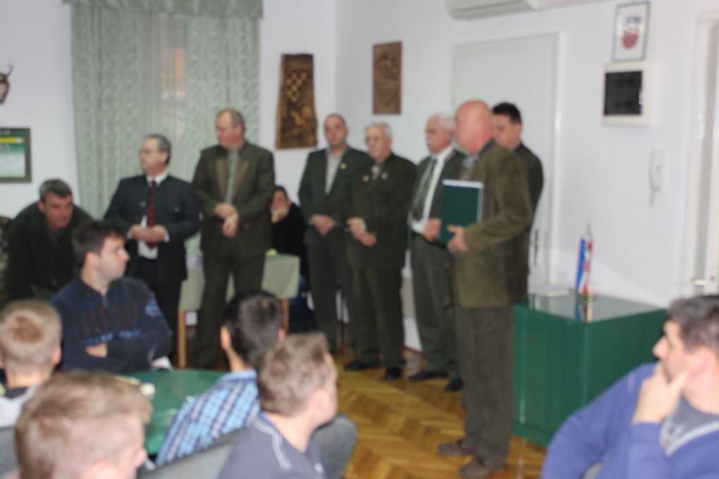 Obavijest o početku predavanja za obrazovanje lovac, lovočuvar i ocjenjivač trofeja