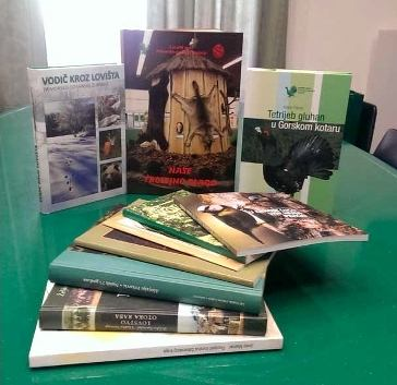 Biblioteka Lovačkog saveza PGŽ-e