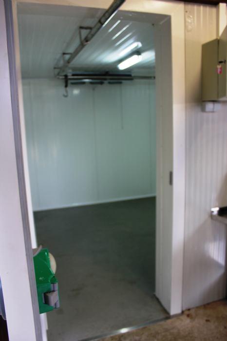 Otvorenje rashladne komore i završetak radova na lovačkoj kući