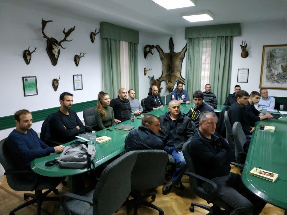 Obrazovanje kadrova u lovstvu