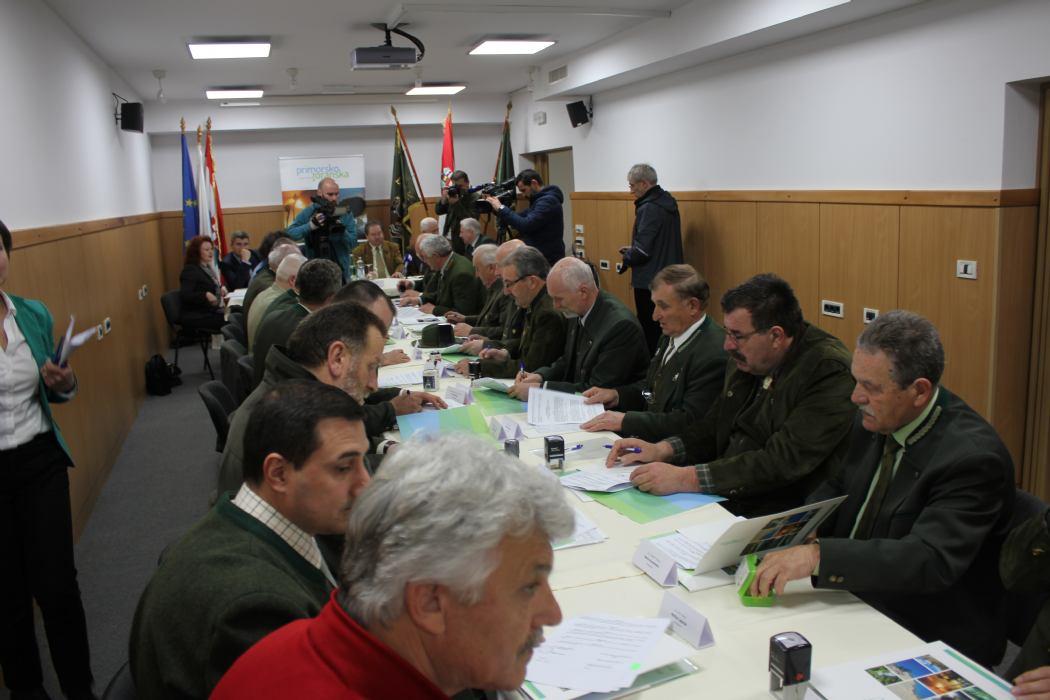 Produljeni Ugovori o zakupa lovišta na području PGŽ